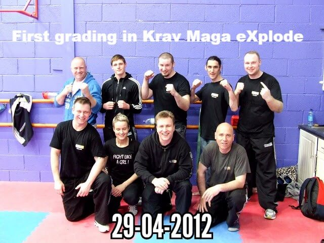 First grading Krav Maga eXplode photo